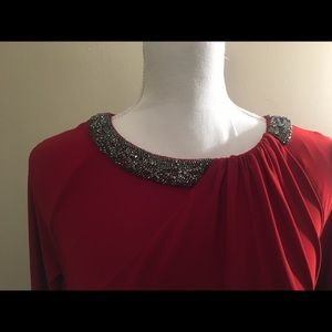 Formal Red Gown Wedding/prom